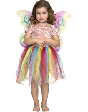 Regnbue enhjørning sett til jenter