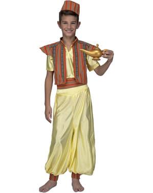 Disfraz de príncipe oriental amarillo para niño