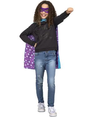 Bål superhelte kappe med stjerner til børn