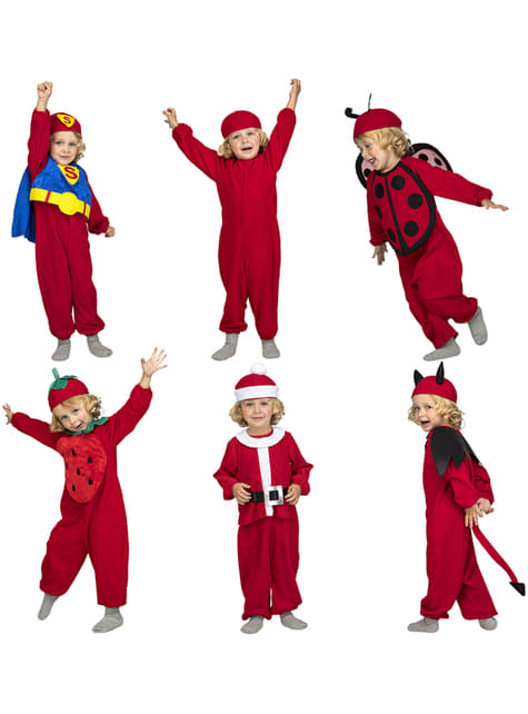 Red Quick n Fun costume for kids