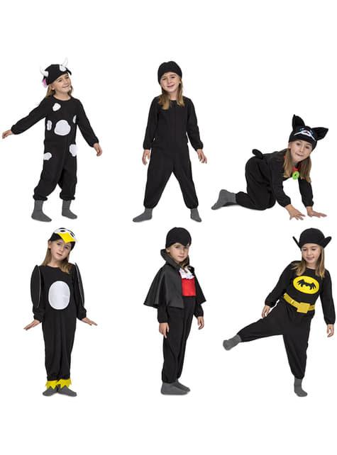 Black Quick n Fun costume for kids