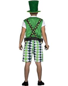 Disfraz de leprechaun irlandés classic para hombre