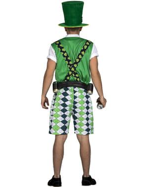 Fato de leprechaun irlandês classic para homem