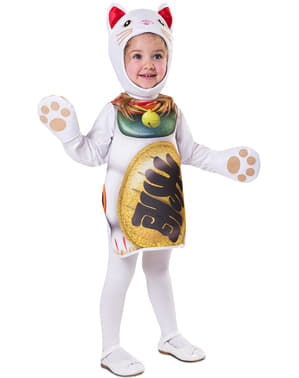 Lucky kitten costume for babies