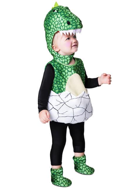Disfraz de dinosaurio recién nacido para bebé