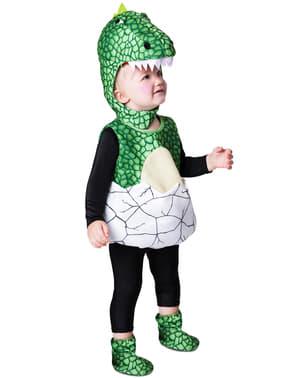 Pasgeboren dinosaurus kostuum voor baby's