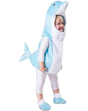 Disfraz de delfín celeste para bebé