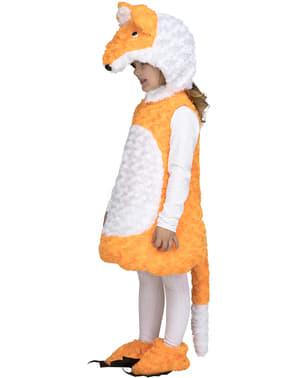Pomarańczowy Strój lisa dla dzieci