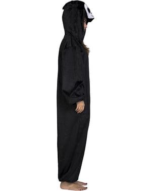 Grote ogen spook onesie kostuum voor kinderen