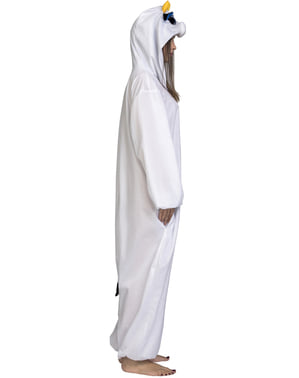 Cow big eyes onesie costume for adults