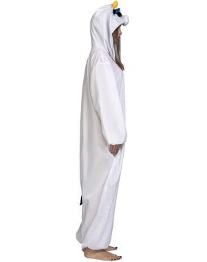 Kuh Onesie Kostüm mit großen Augen für Erwachsene
