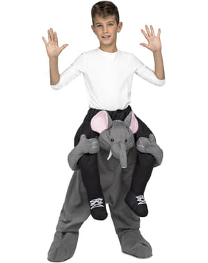 Piggyback Elephant Costume
