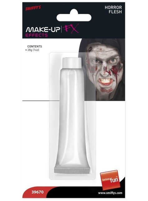 FX effect chalky skin make up