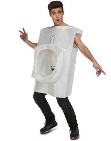 Disfraz de WC para adulto