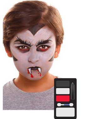 Maquilhagem de vampiro infantil