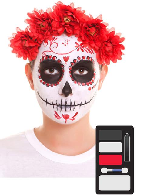 Maquillage Catrina adulte