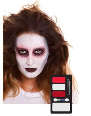 Maquillaje de fantasma para adulto