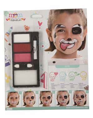 Maquillage chien dalmatien enfant