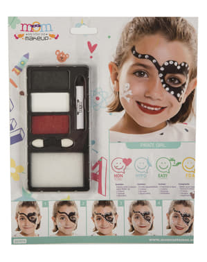 Pirate make-up for girls