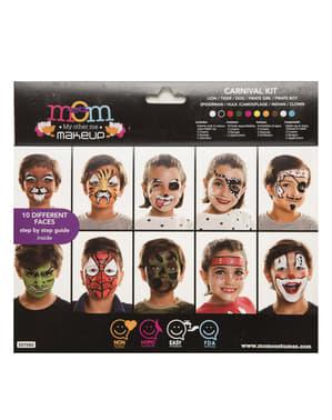 Conjunto de maquilhagem multiusos infantil