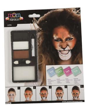 Maquillaje de león para adulto
