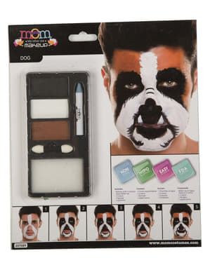 Brown dog make-up for adults
