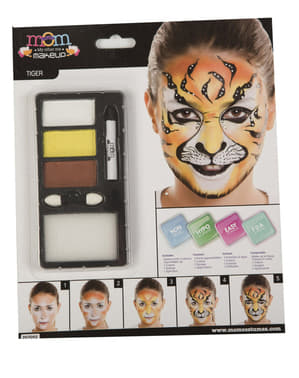 Maquillage tigre adulte