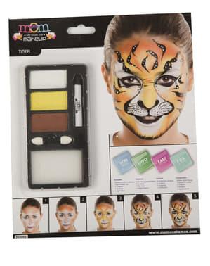 Tiger Make-Up für Erwachsene
