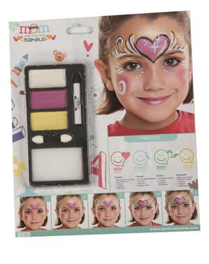 Pearl princess make-up for kids