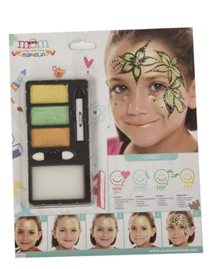 Forest princess make-up for kids