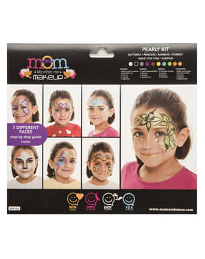 Set de maquillaje multiusos perlado infantil