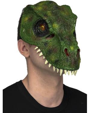 Máscara de dinossauro para adulto