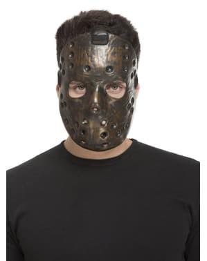 Yetişkinler için kahverengi psikopat maskesi