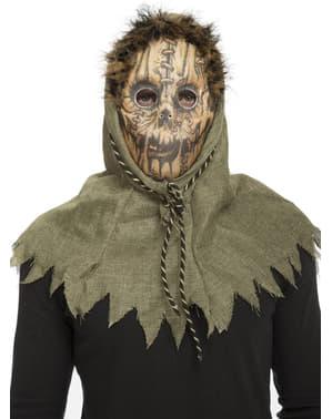 Máscara de espantapájaros para adulto