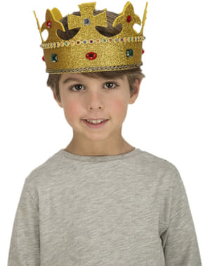 Coroa de rei infantil