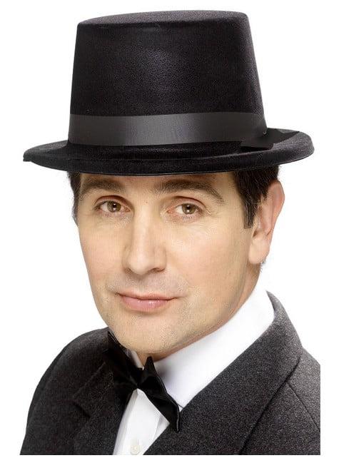 Chapeau noir classique