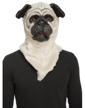 Bulldog med bevægende mund maske til voksne