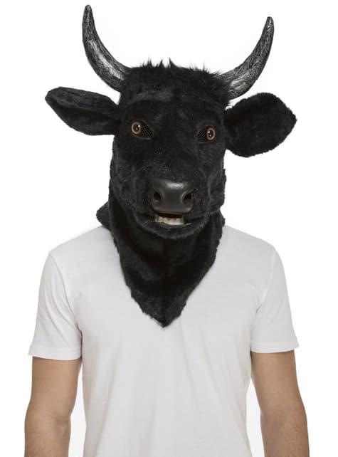 Máscara de toro moving mouth para adulto