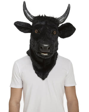 Bull moving mouth mask for adults