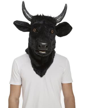 Mască de taur moving mouth pentru adult