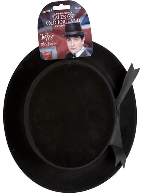 Svart hög hatt Classic