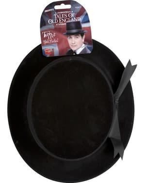 Klassieke zwarte hoed
