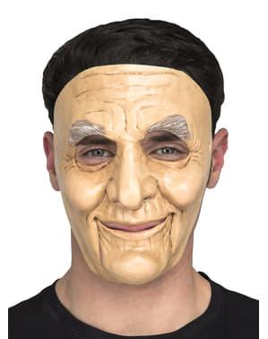 Máscara de anciano para adulto
