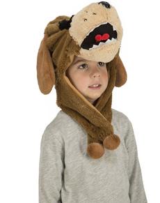 Gorro de cão castanho infantil 2fcfb4870dc