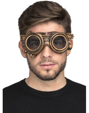 Zlata Steampunk očala za odrasle