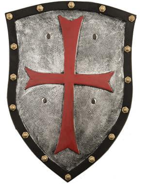 Perisai abad pertengahan dengan salib