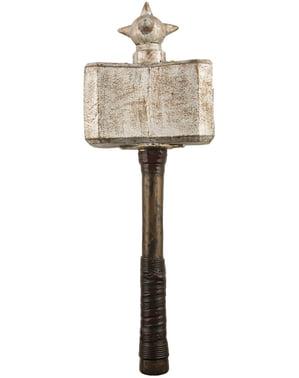 Martillo de guerrero vikingo