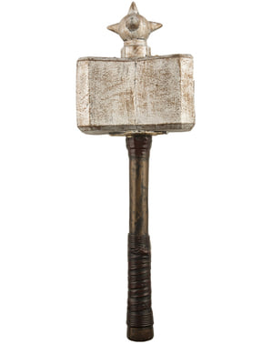 Viking warrior hammer