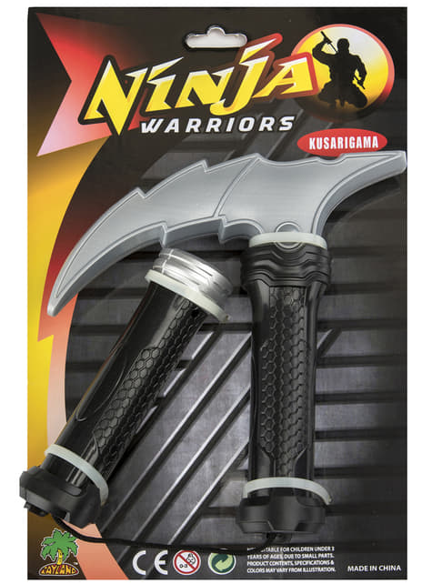 Nunchaku de ninja con sable