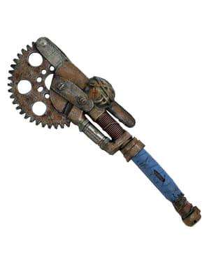 Steampunk motorsag med mutre